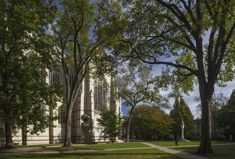 Princeton Chapel, Princeton University, Princeton, New Jersey, USA