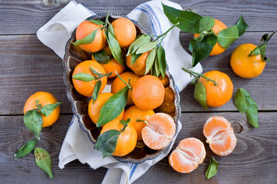 pile of tangerines