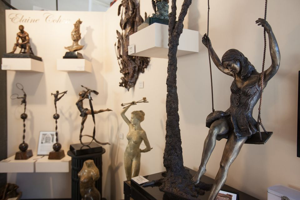 Bronze Work by Elaine Cohen at the Festival of Arts