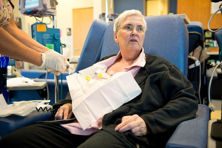 What is intraperitoneal chemo for ovarian cancer?