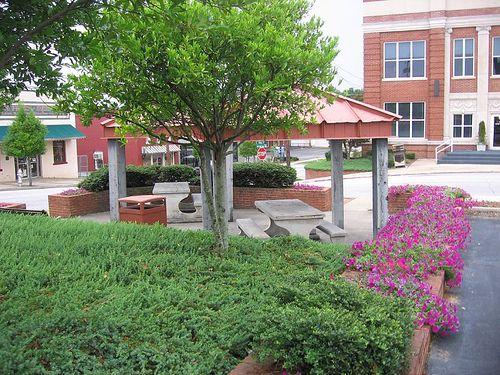 Adamson Square in Downtown Carrollton