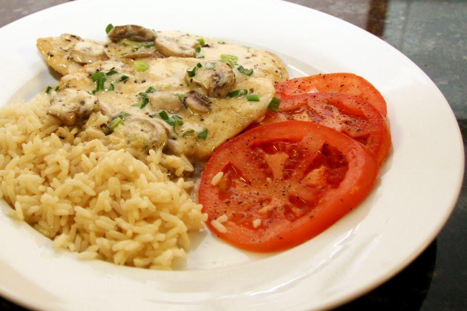 creamy chicken marsala sauce