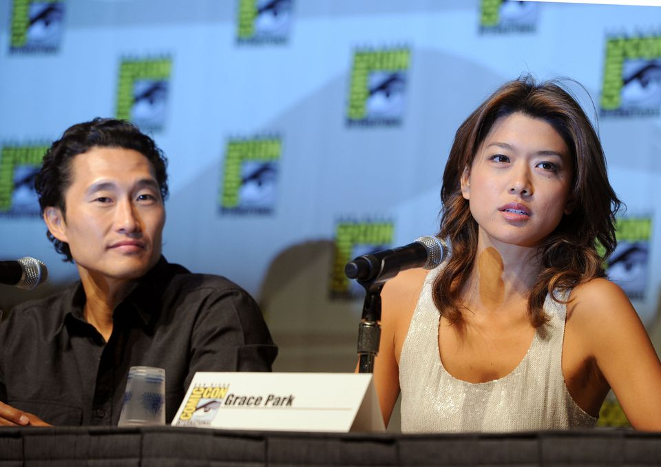 Daniel Dae Kim and Grace Park