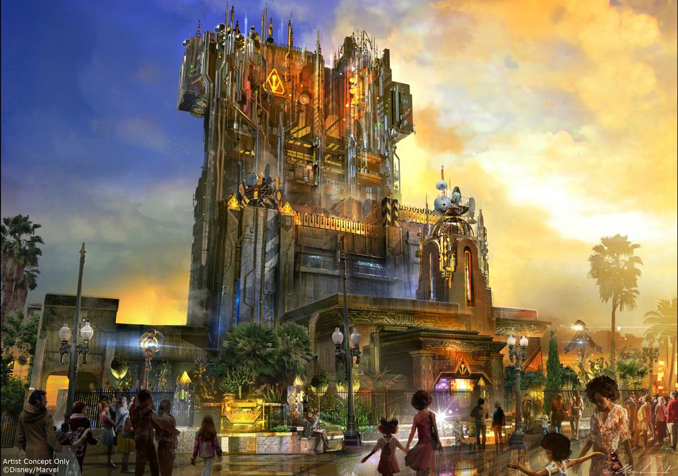 Guardians of the Galaxy - Mission: BREAKOUT! at Disney California Adventure