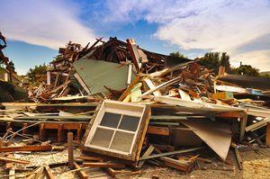 Home destroyed after major disaster claim