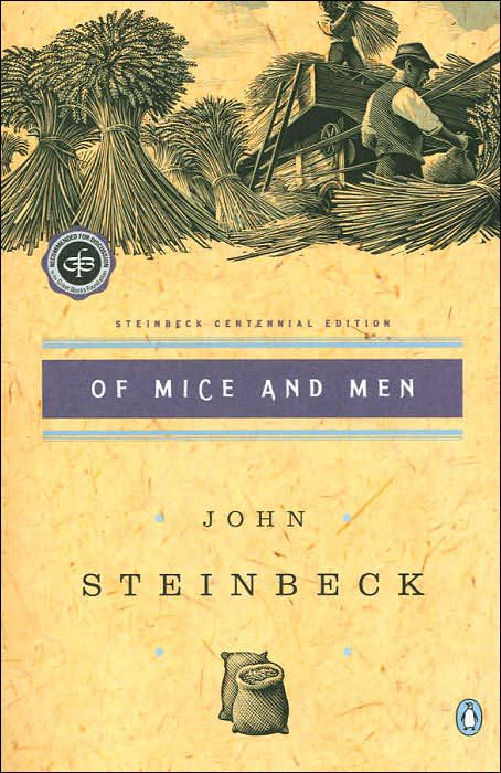 a review of the book of mice and men by john steinbeck It's easy to think of john steinbeck's novella — and by extension his play  adaptation — as literature with training wheels but steinbeck gets.