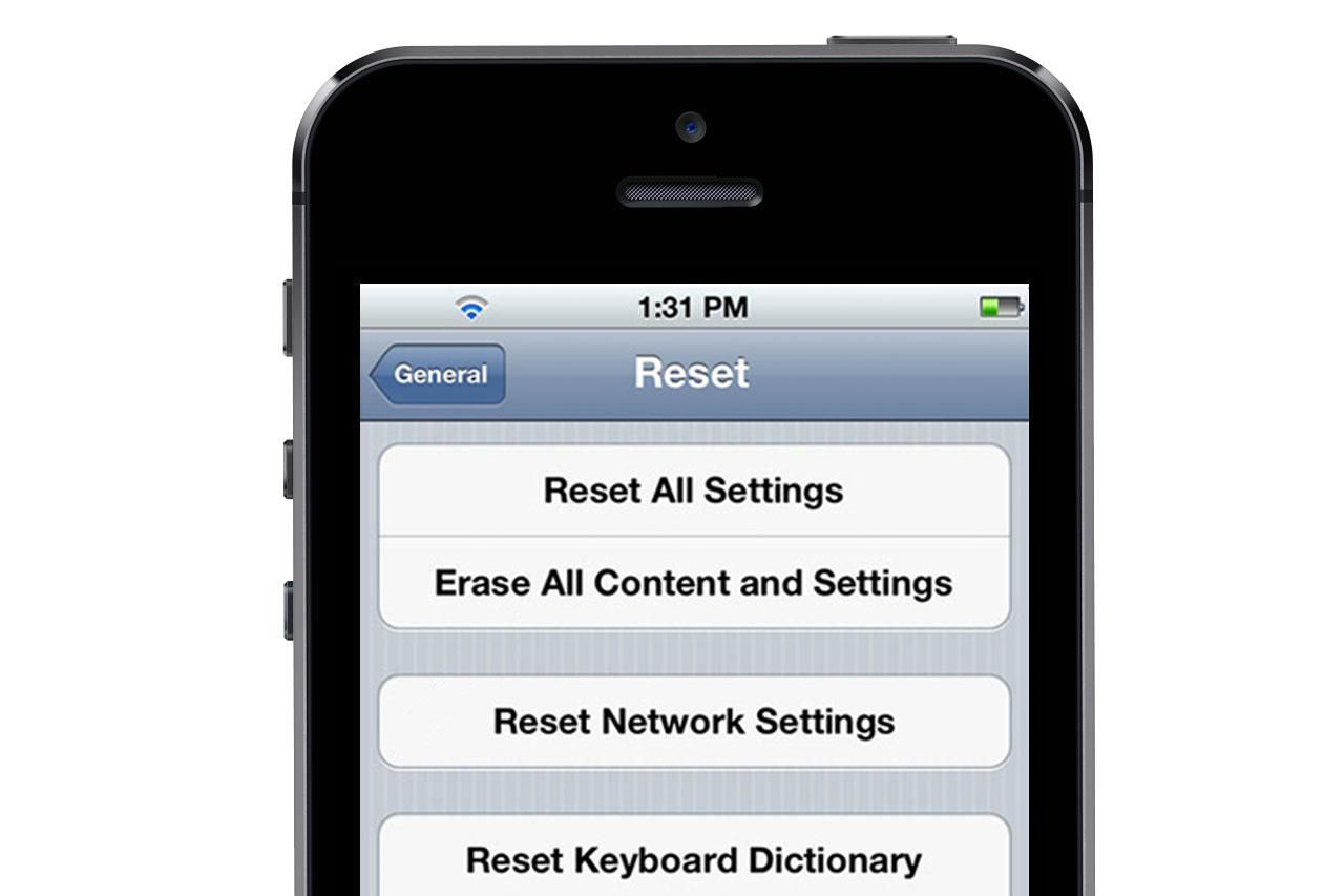 how to erase iphone 5 how to erase your iphone s data before you sell it 5786