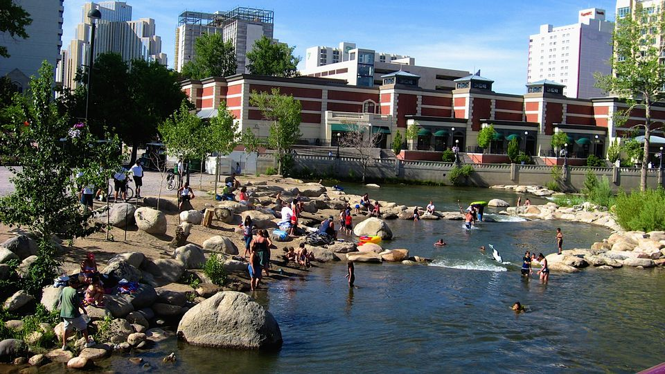 Reno nevada is a cool western destination riverwalk in reno nevada solutioingenieria