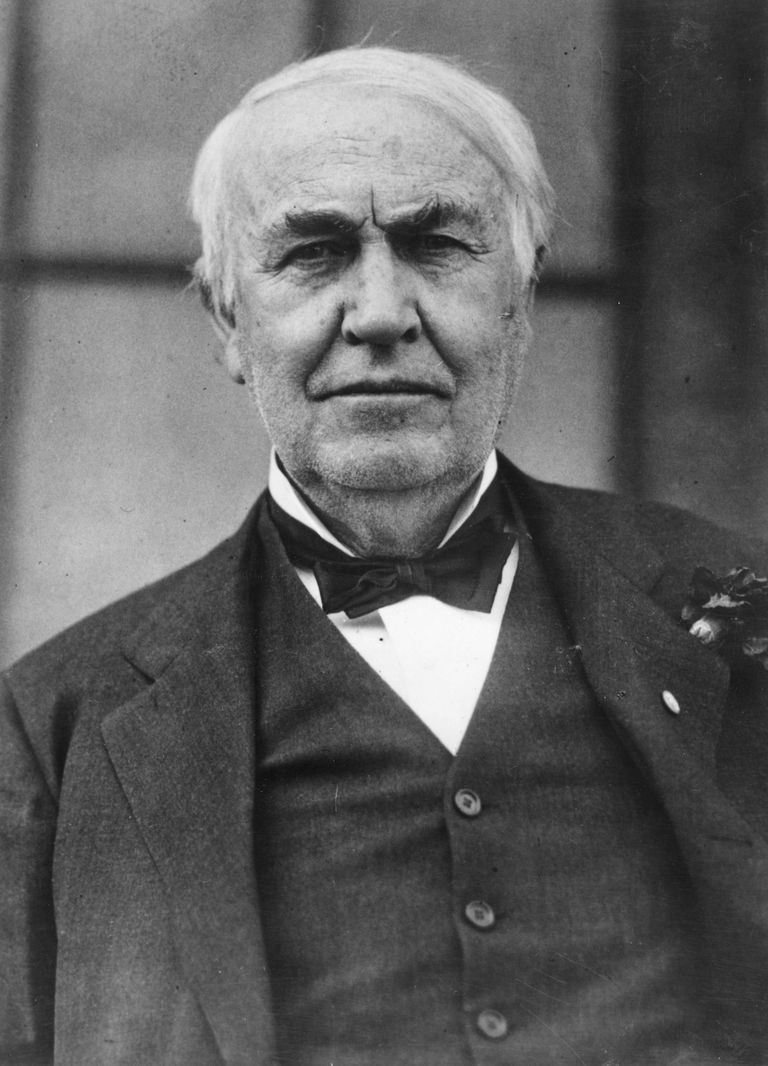 Thomas Edison - The Inventor With 1,093 Patents for Thomas Edison As A Teenager  51ane