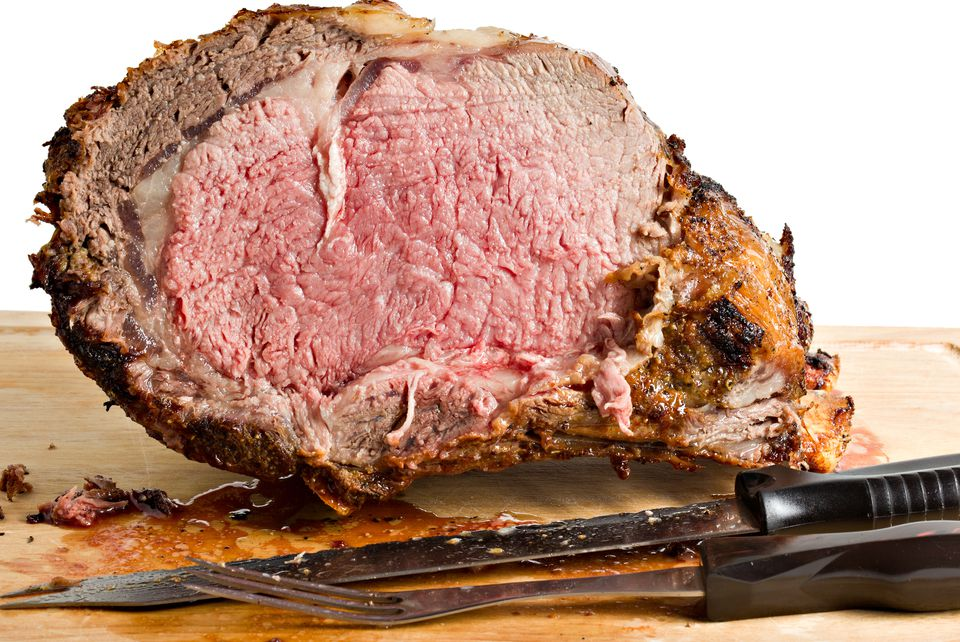 Perfect slow-roasted prime rib