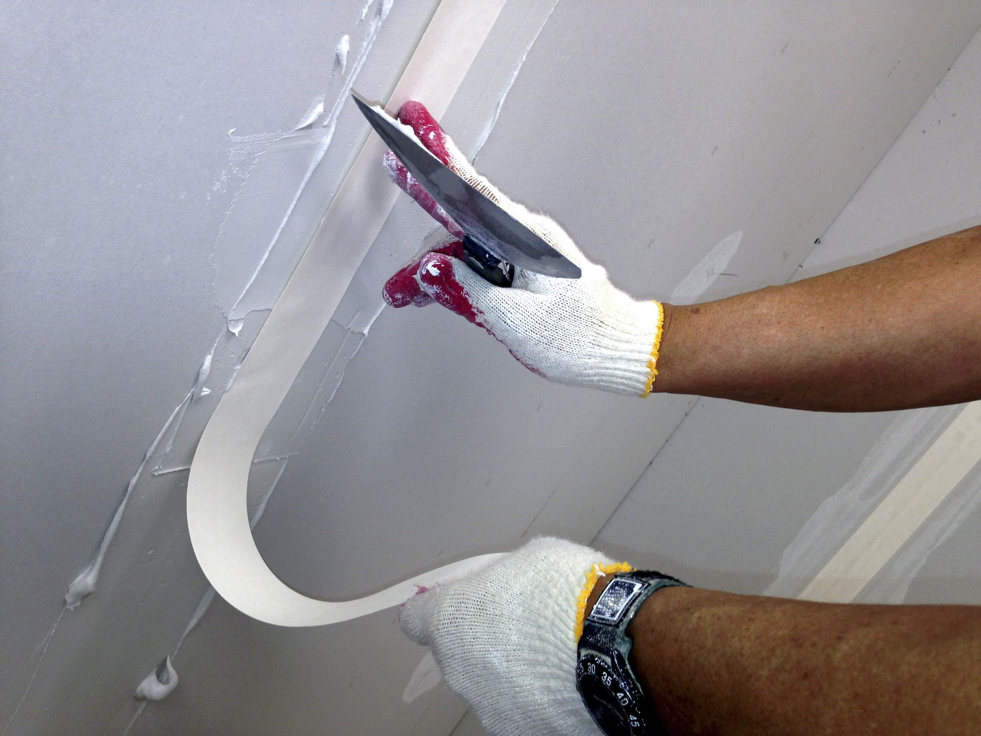 how to fix a bad drywall mud job