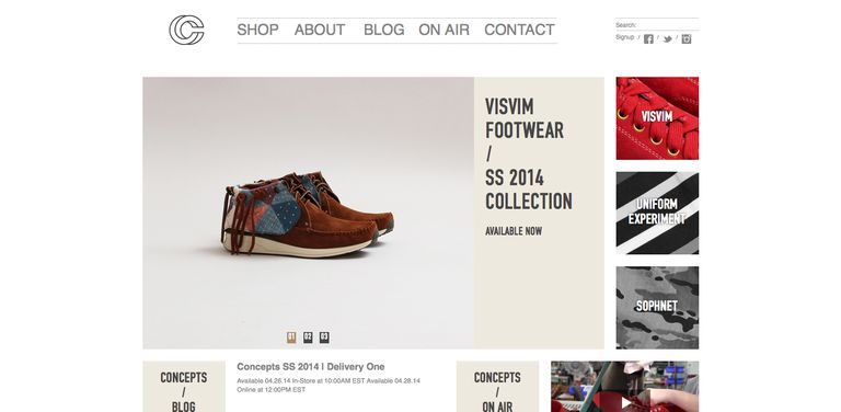Concepts Homepage