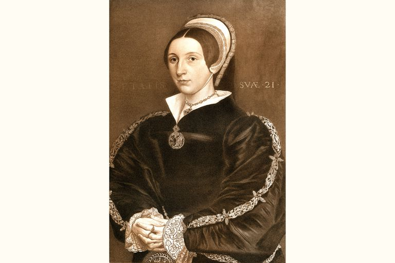 Katherine Howard, an engraving from a print