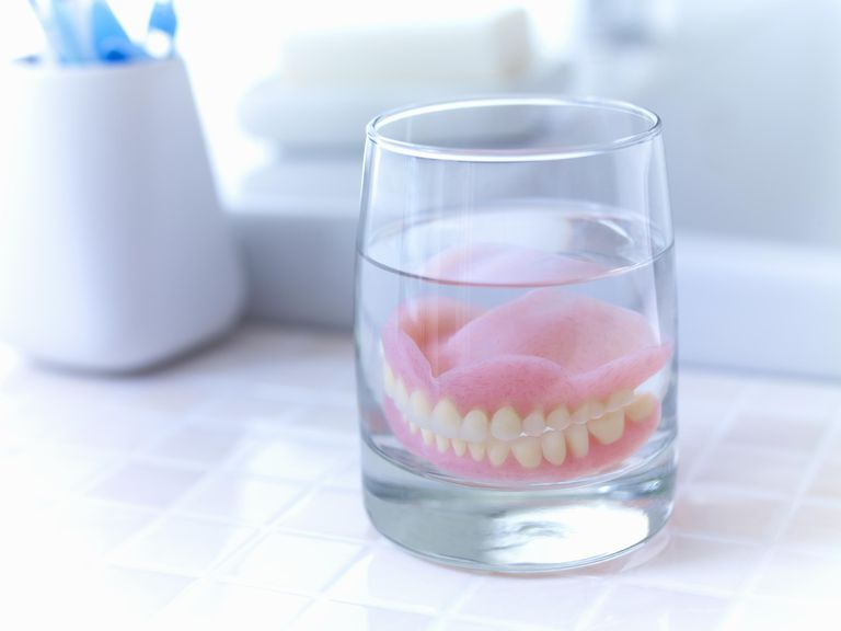 With time, you'll adjust to eating with dentures.
