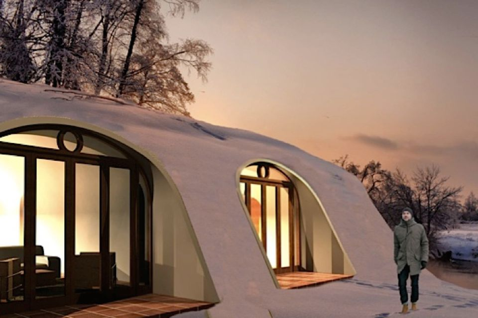 build this magical hobbit house in only three days. Black Bedroom Furniture Sets. Home Design Ideas