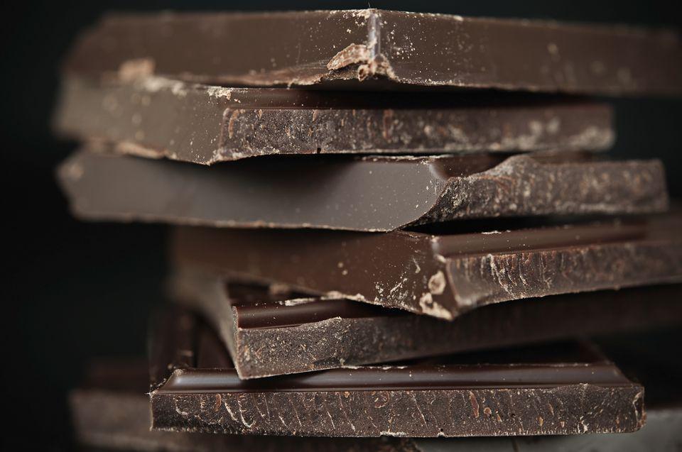 Dark vegan chocolate bars