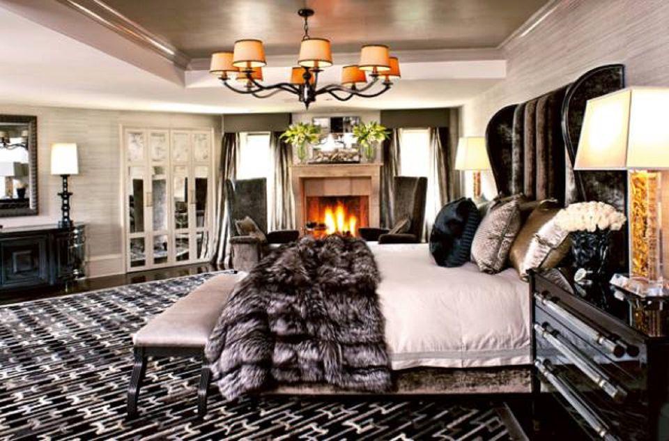master bedroom design. Kris Jenner s Bedroom  Jeff Andrews Design 100 Stunning Master Ideas and Photos