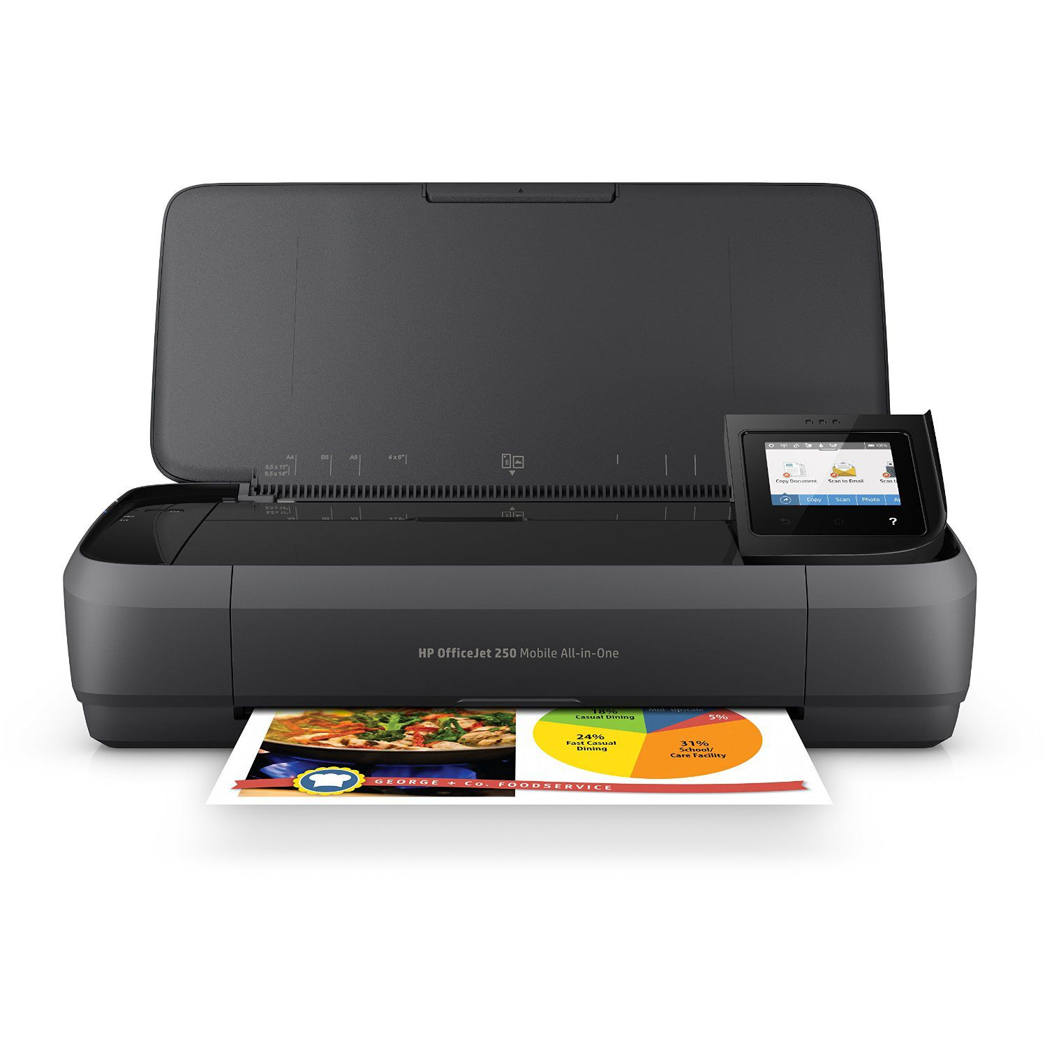 Color printing quality - Hp Officejet 250 All In One Portable Printer With Wireless Mobile Printing