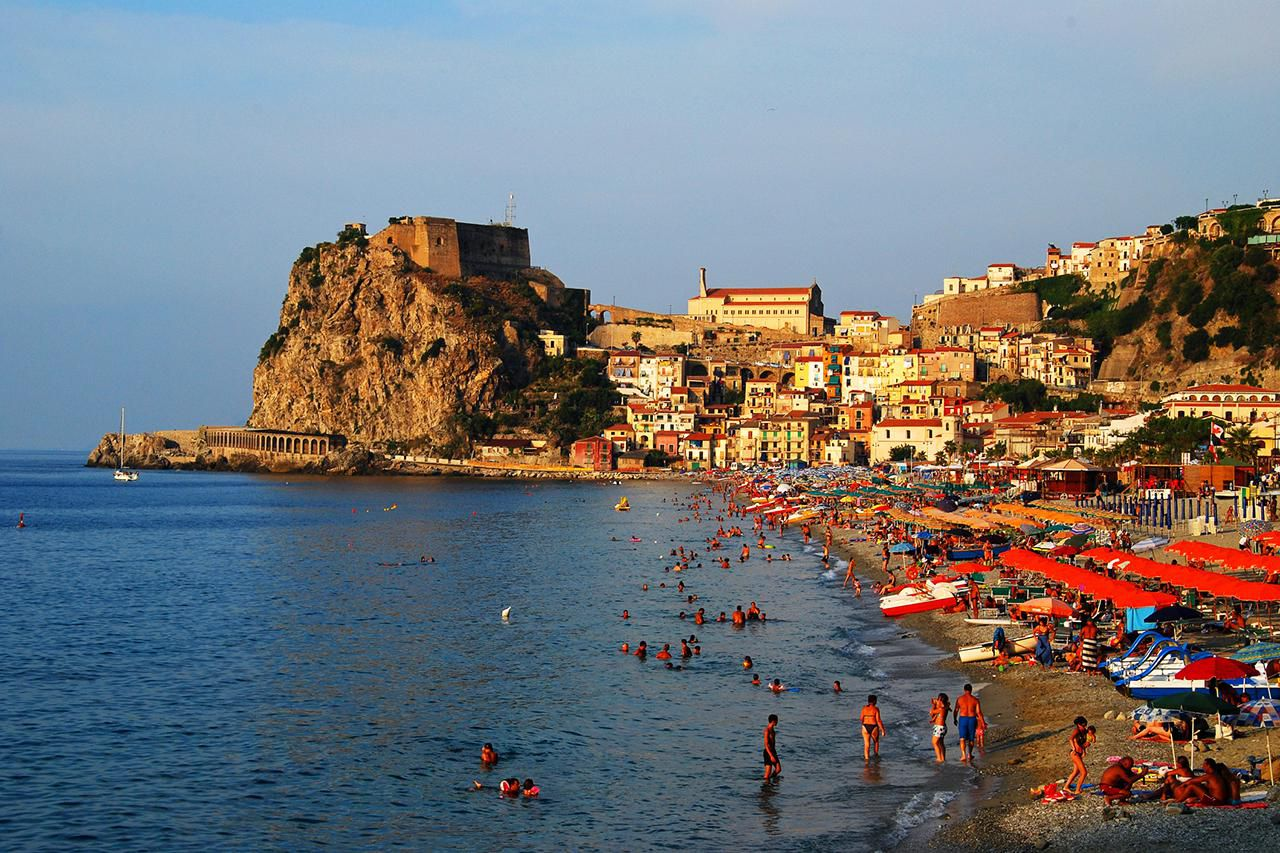 Beaches and Seaside Towns of Calabria, Southern Italy