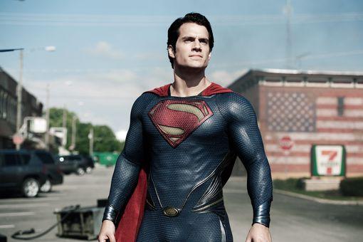 Henry Cavill as Superman in