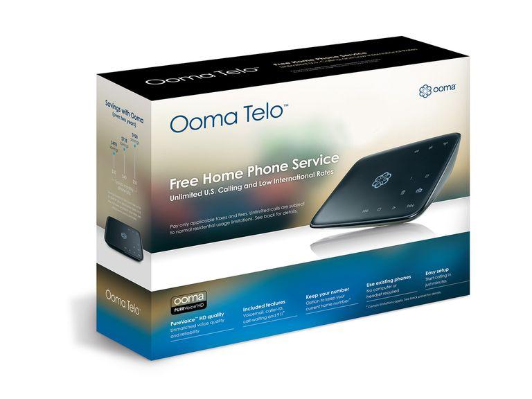 Ooma Telo Packaging