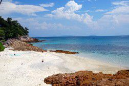 The beach in Perhentian Kecil, Malaysia