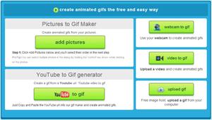 Screenshot of Make A GIF