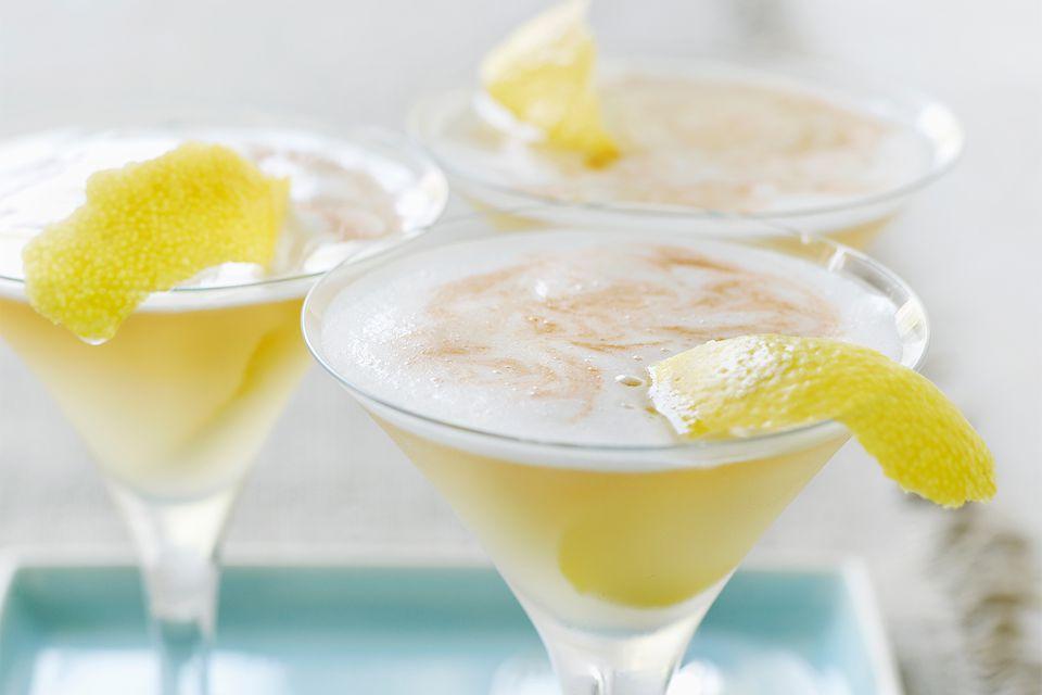 Moet Golden Glamour Cocktail