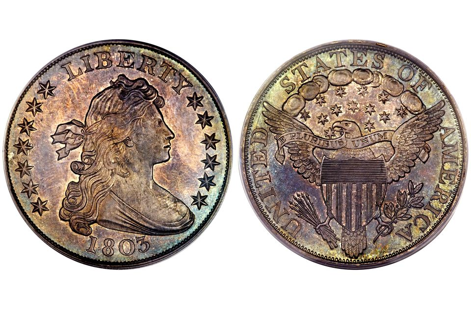 1803 Proof Draped Bust Silver Dollar