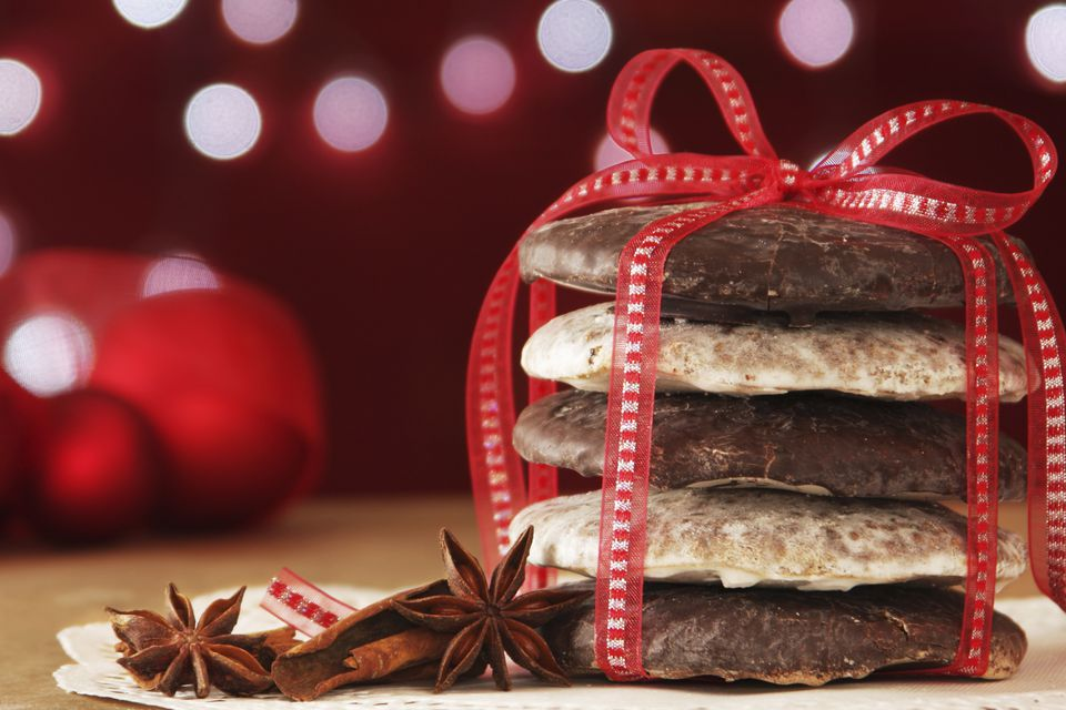 German Lebkuchen - German Gingerbread