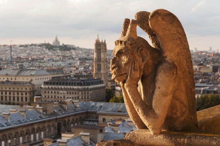 Notre Dame Cathedral, gargoyles