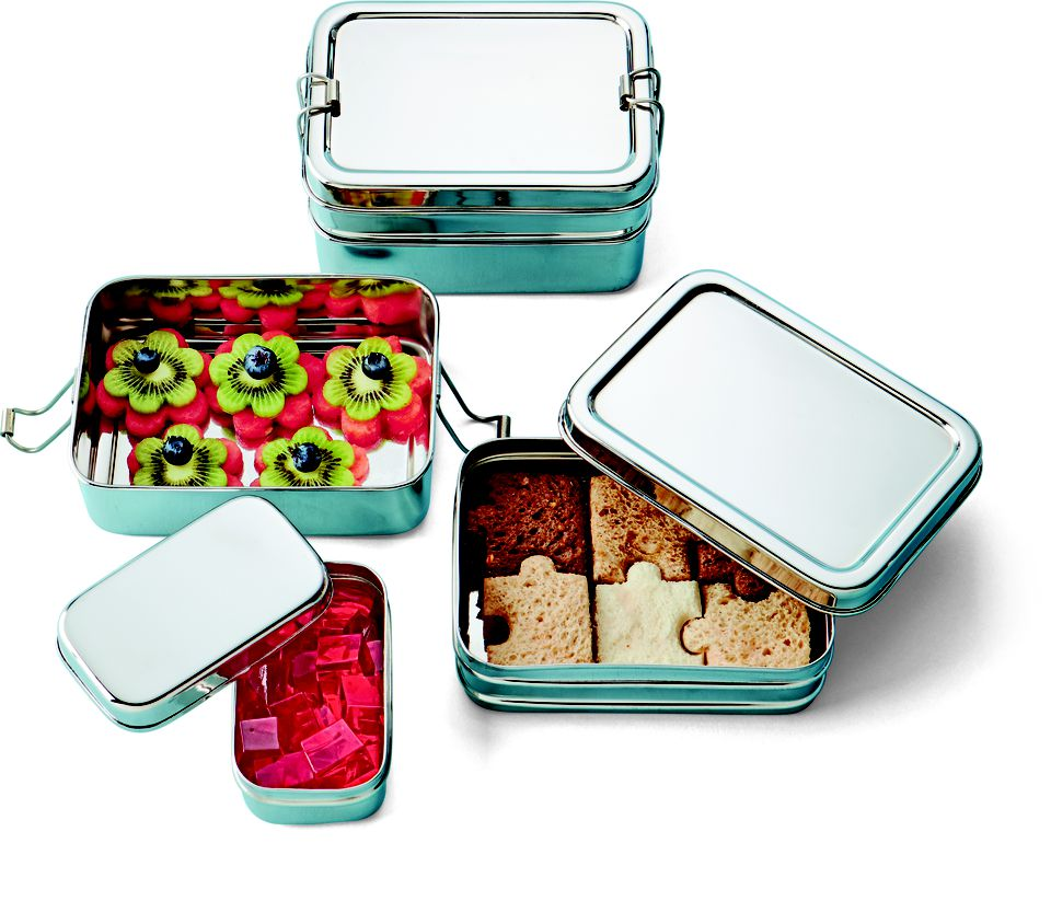 Stainless Steel 3-in-1 Eco Lunchbox