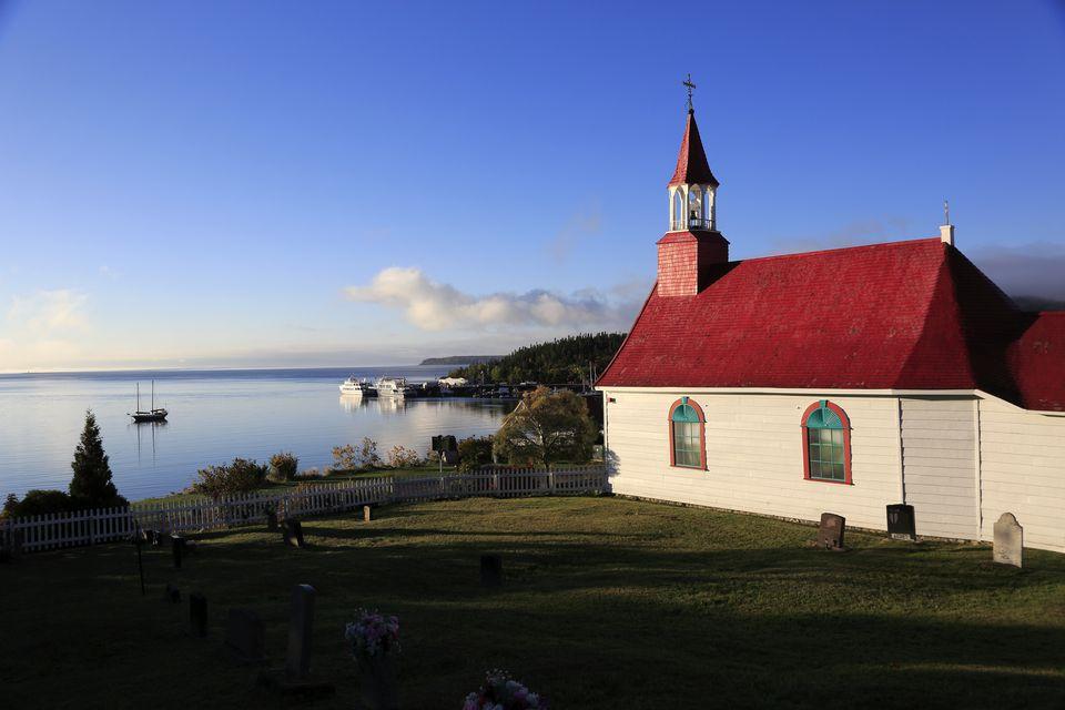 Historic Tadoussac Chapel