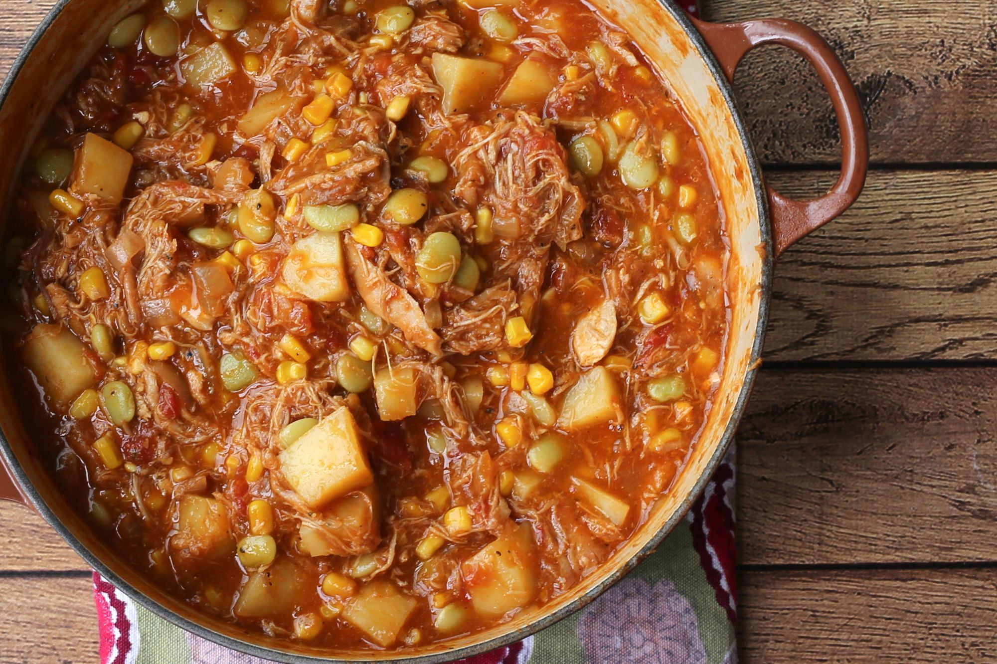Georgia Style Brunswick Stew Recipe