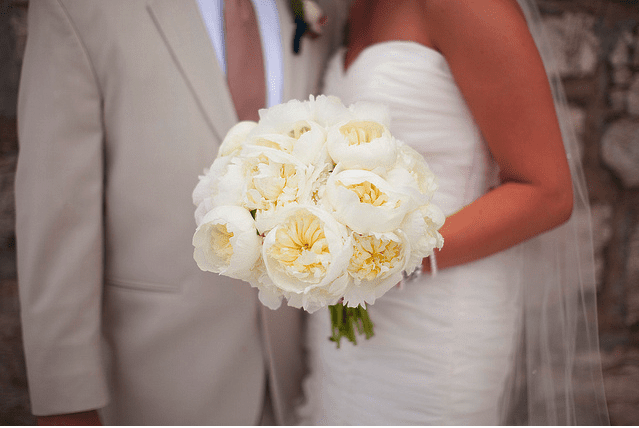 You Dont Need Many Peonies To Make A Lush Bridal Bouquet Photo Courtesy Of Blue
