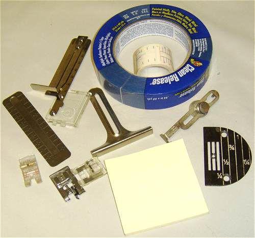 sewing machine seam guides