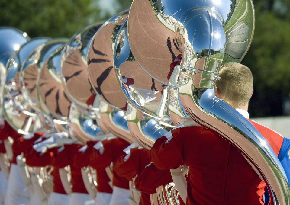 Bandfest at the Rose Parade