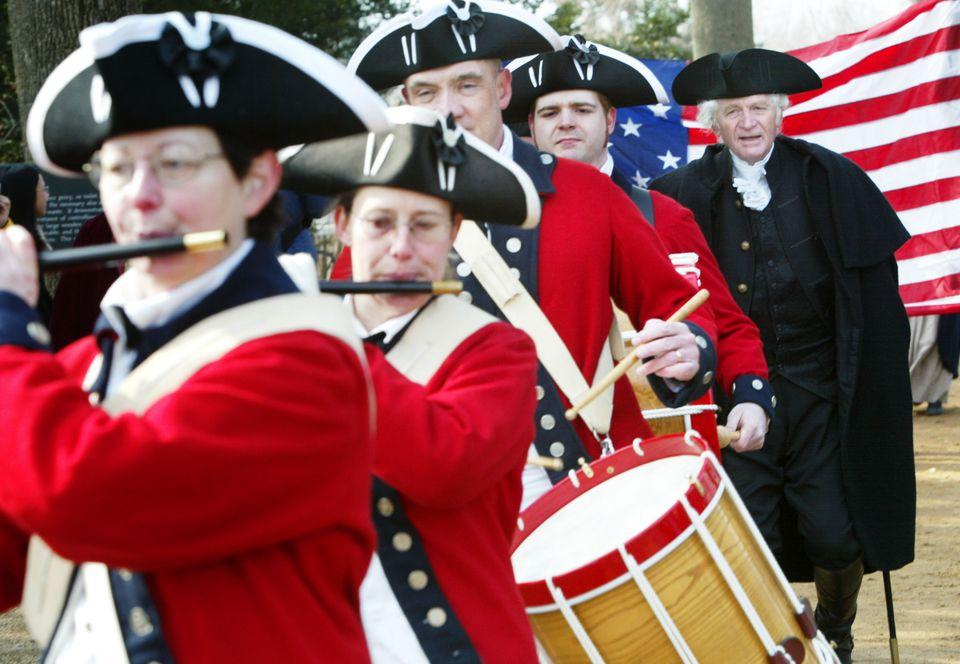 George Washington's Birthday Parade