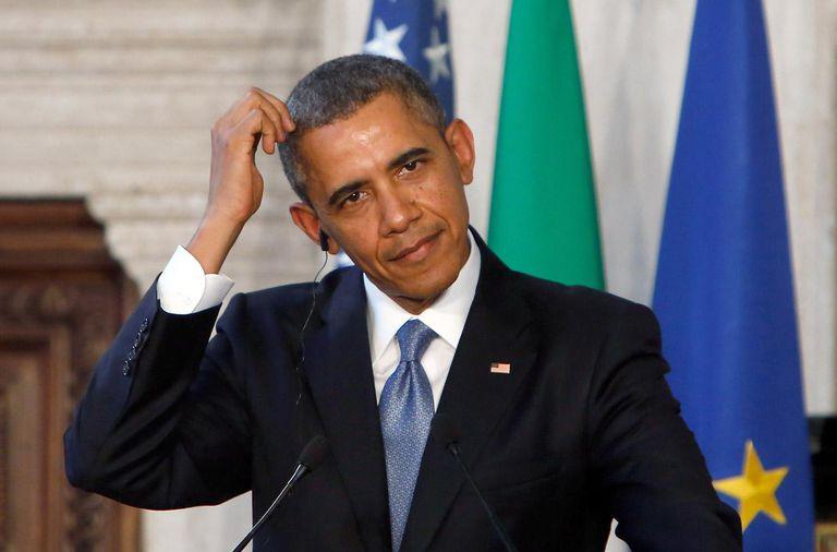 President Barack Obama Meets Italian Premier Matteo Renzi