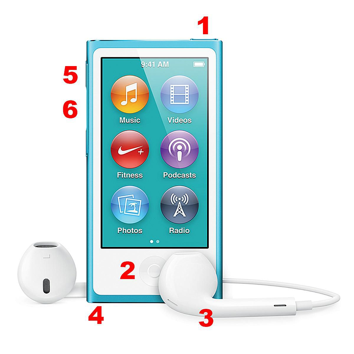 anatomy of the 7th generation ipod nano hardware. Black Bedroom Furniture Sets. Home Design Ideas