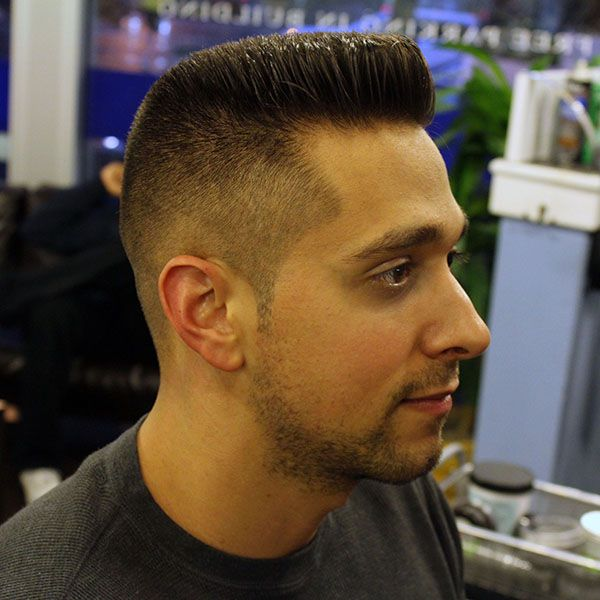 Barbershop Men's Haircuts - The Flattop