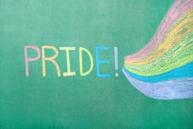 Chalkboard Pride