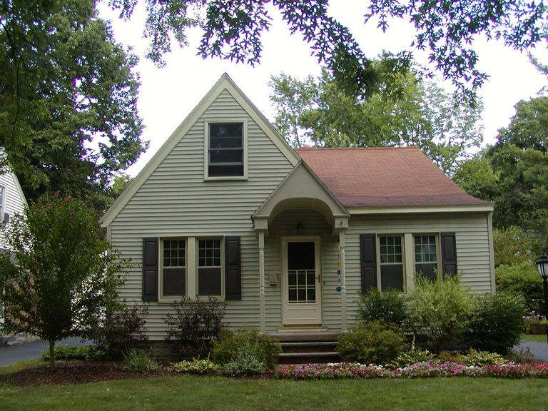 What did american homes look like from 1930 to 1965 for Premade roof