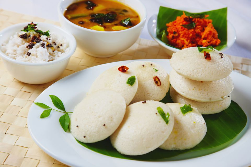 Idlis Steamed Rice Cakes Recipe