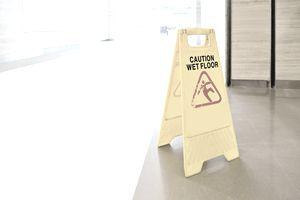 warning sign slippery