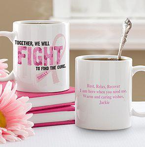 Pink Ribbon Mug