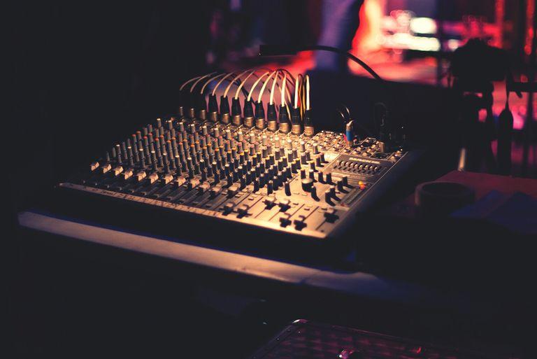 sound board at club