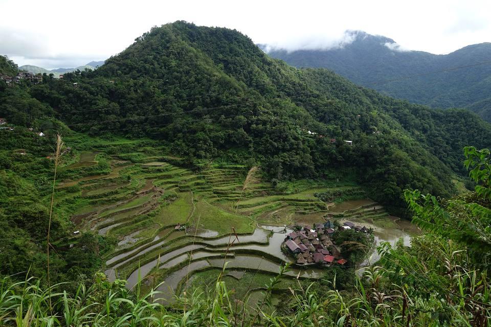 Bangaan Rice Terraces, Philippine Cordilleras.
