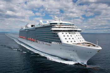 Aboard The Ruby Princess Cruise Ship - How many knots does a cruise ship go