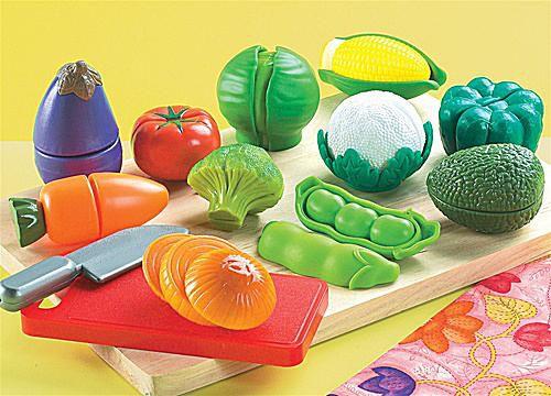 Small World Toys Peel & Play Veggies
